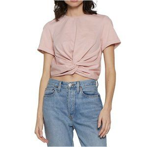 Walter Baker Camille Twisted Front T-Shirt Large
